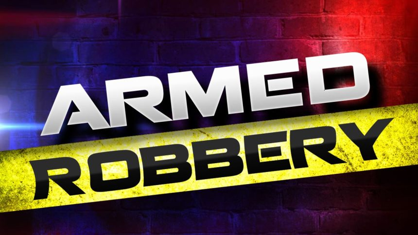 Armed robbery graphic