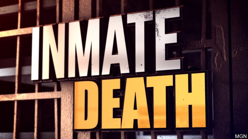 Inmate death graphic