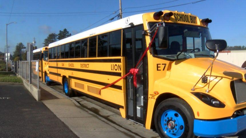 NEW ELECTRIC SCHOOL BUS