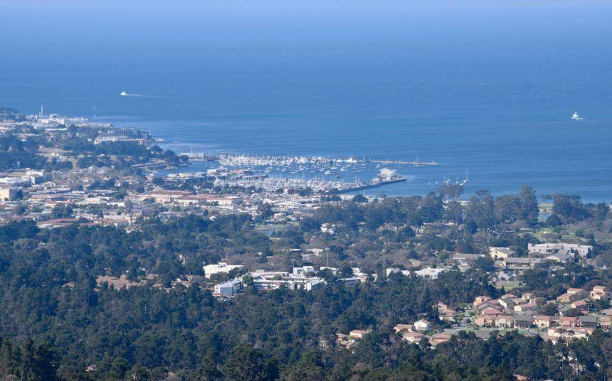 city of monterey view