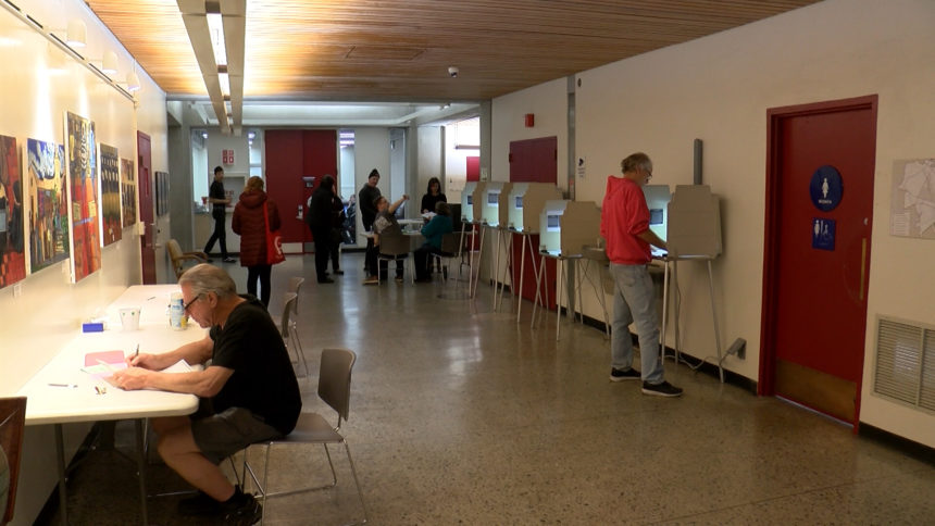 Santa Cruz County residents voting on election day