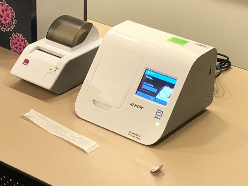 covid rapid test coronavirus