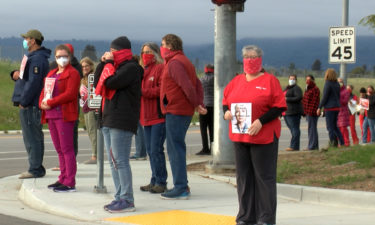 Nurses hold new rallies across Central Coast over PPE, layoffs