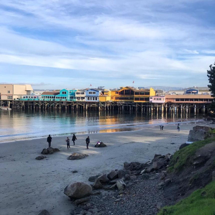 monterey wharf beach