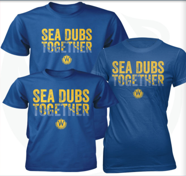 santa cruz warriors sea dubs together