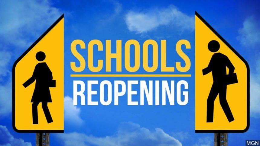 schools reopening coronavirus