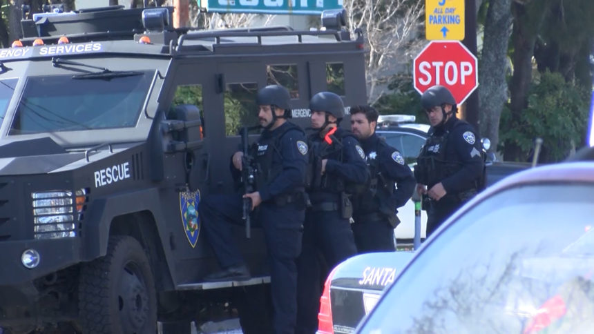 Santa Cruz Police BearCat
