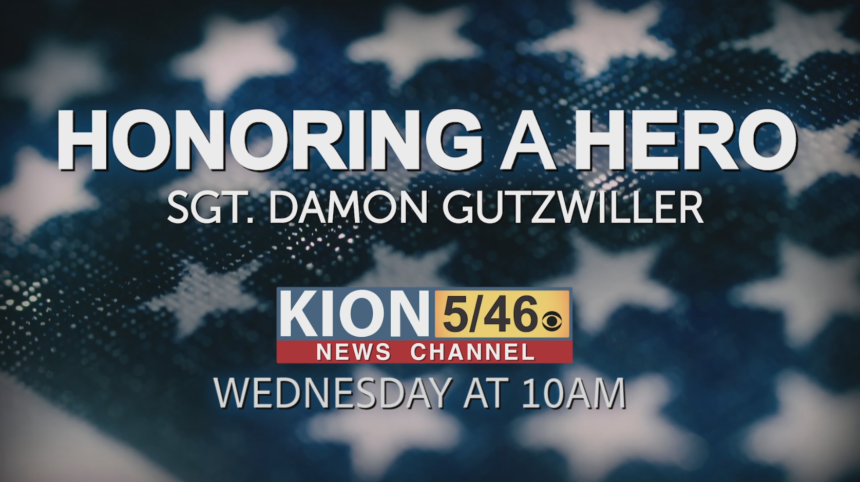 gutzwiller honoring a hero