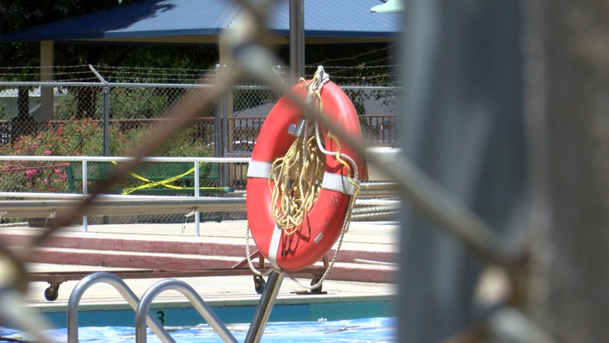 king city pools closed
