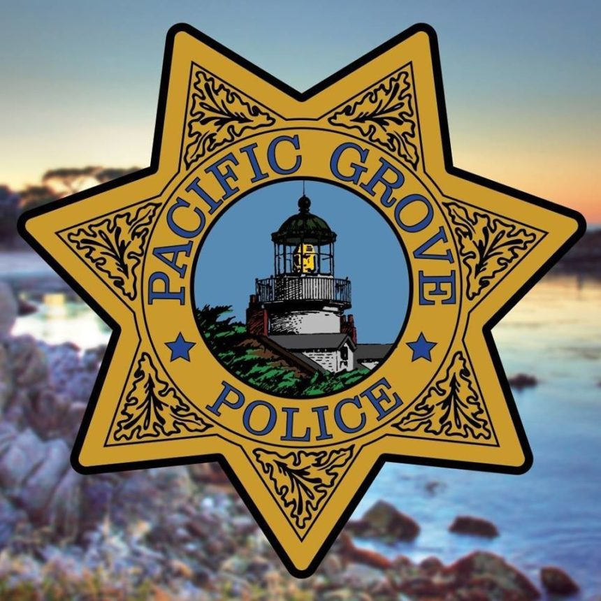 pacific grove police logo
