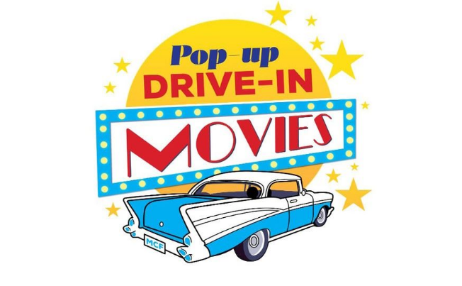 pop up drive in movies