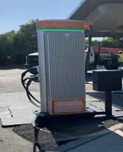 rest area electric charging caltrans
