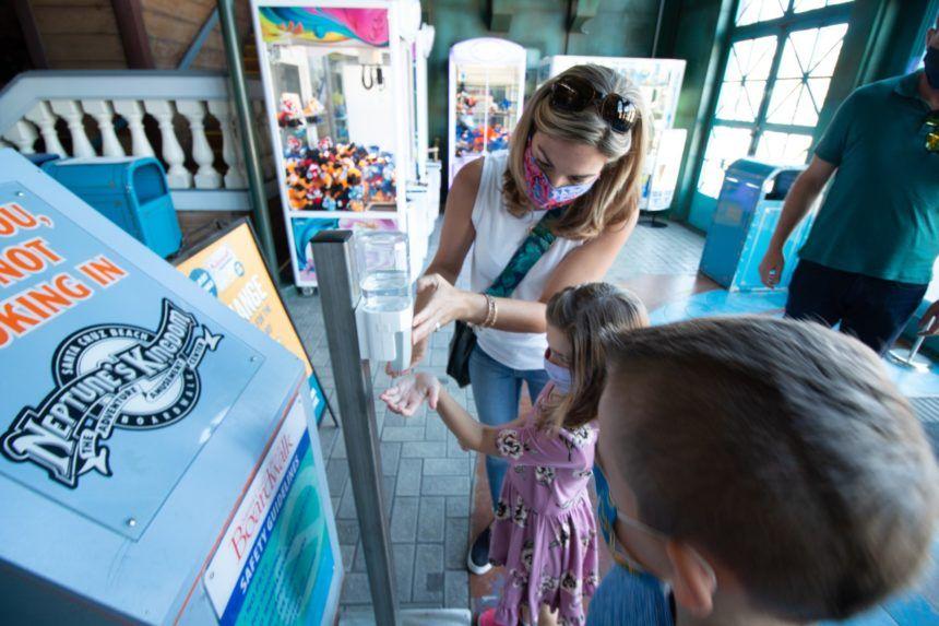 santa cruz boardwalk reopenings