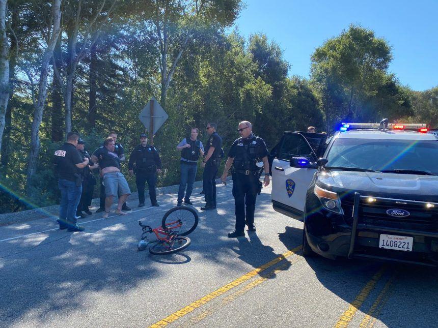 sc county assault chase arrest