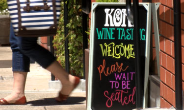 Carmel wine tasting rooms opening outdoors for business