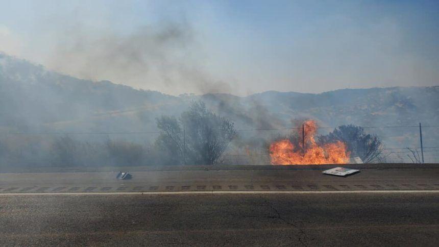pacheco pass fire closure