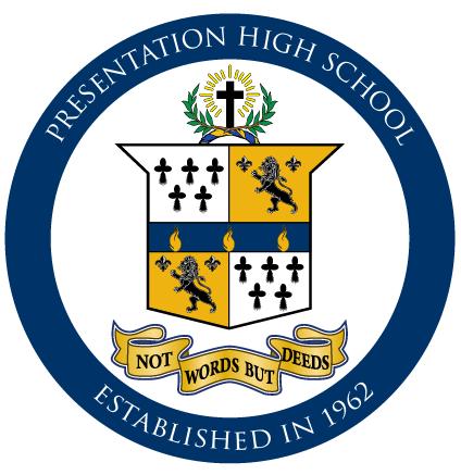 presentation high school logo