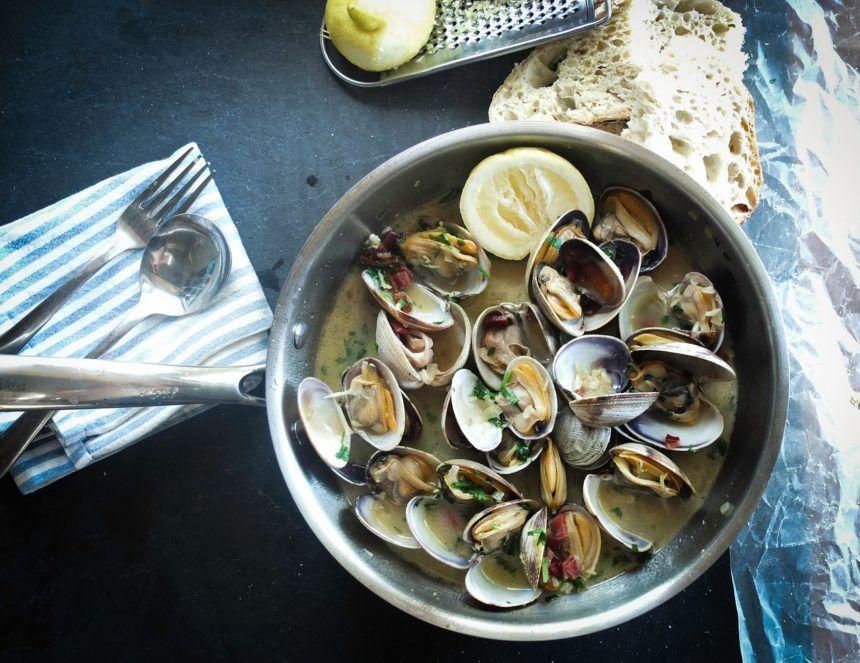 shellfish seafood clams