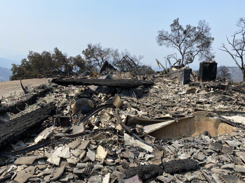 Carmel Fire damage
