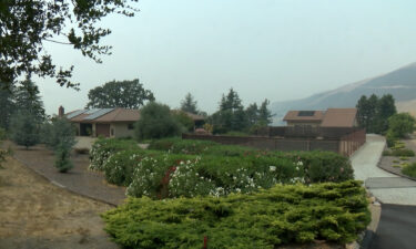 Some choose to ride out fires despite mandatory evacuations