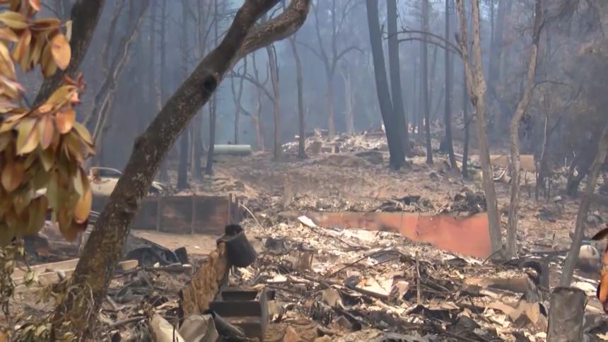 destroyed santa cruz county homes