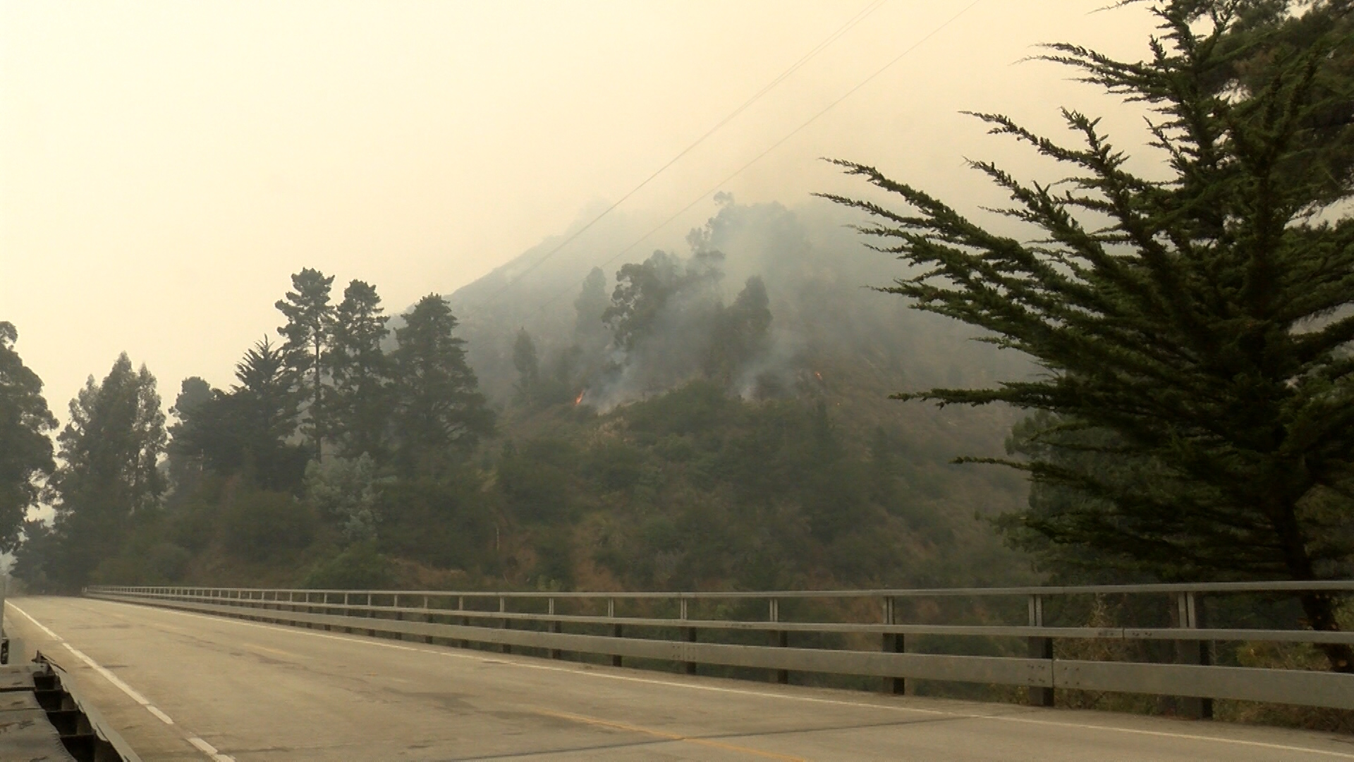Dolan Fire continues to burn over 8,000 acres so far south of Big Sur