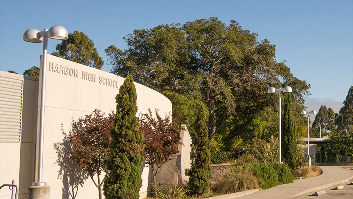 Harbor High School in Santa Cruz