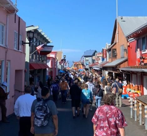 """Monterey to address Wharf """"overcrowding"""" - KION546"""