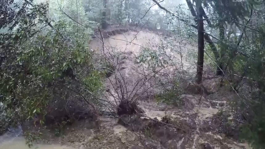 Debris Flow concerns in Santa Cruz County