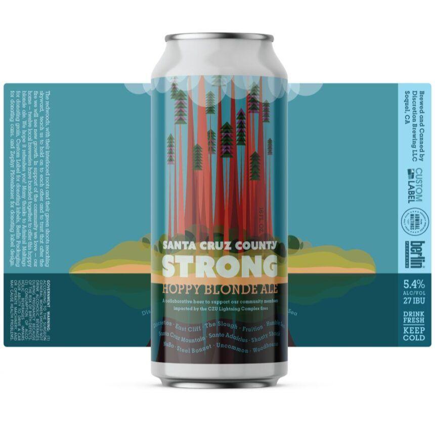 santa cruz county strong beer