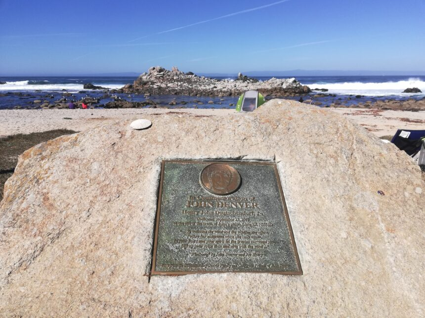 john denver memorial pacific grove