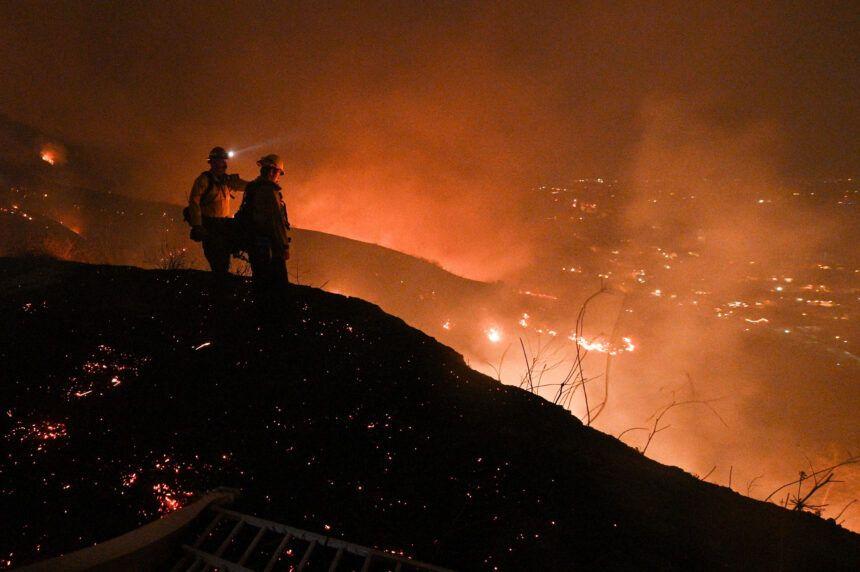 CA Wildfires Evacuation Order