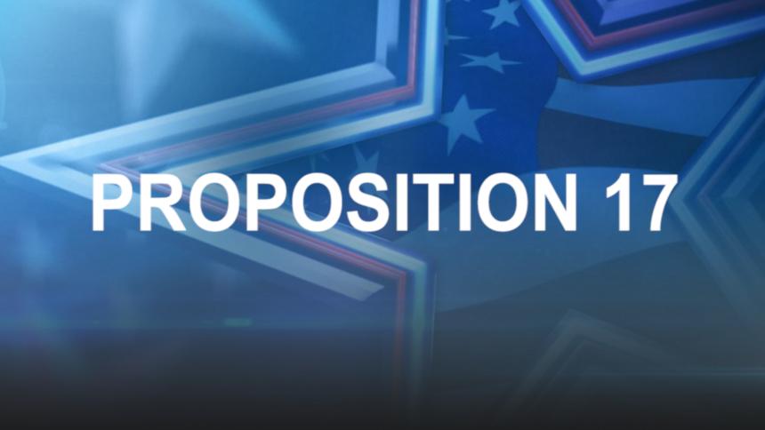 proposition 17 temp