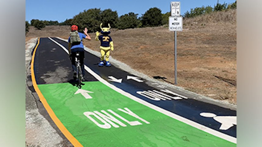 ucsc renovated bike path
