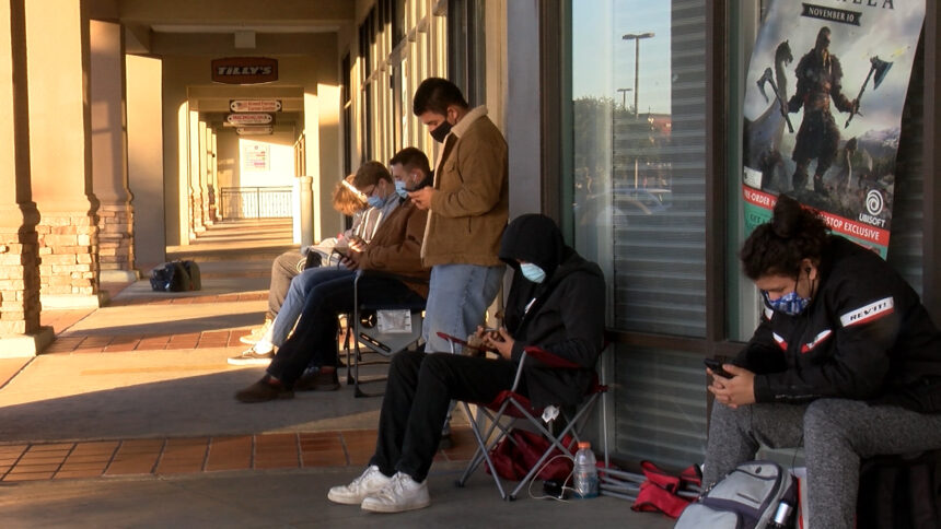 Black Friday lines form at GameStops across Central Coast