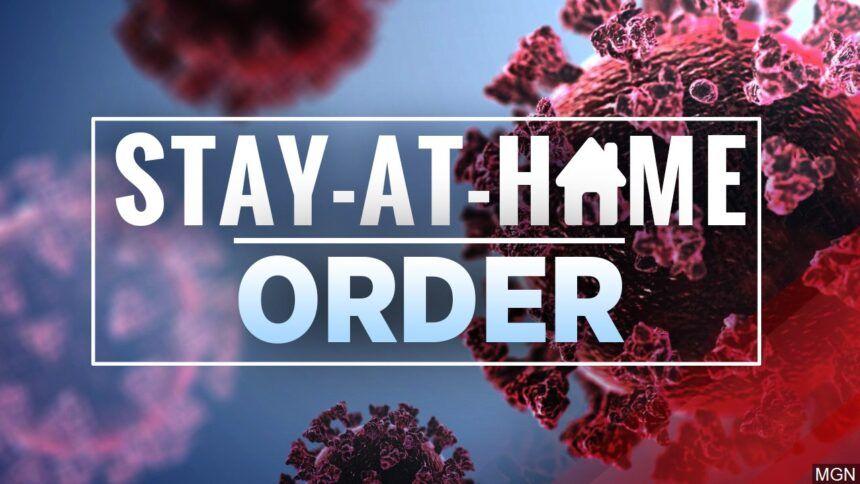 stay at home order coronavirus covid