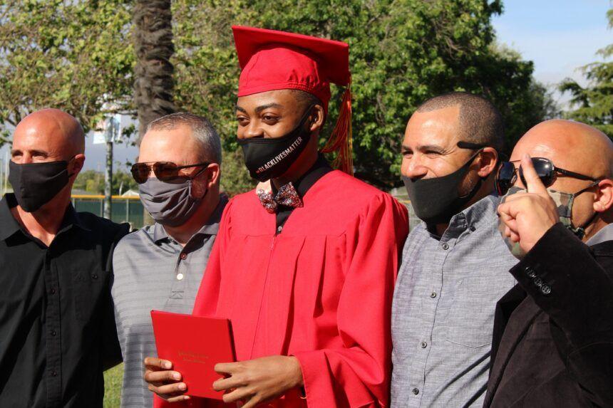 Syon Green Graduation (photo courtesy of Syon Green)