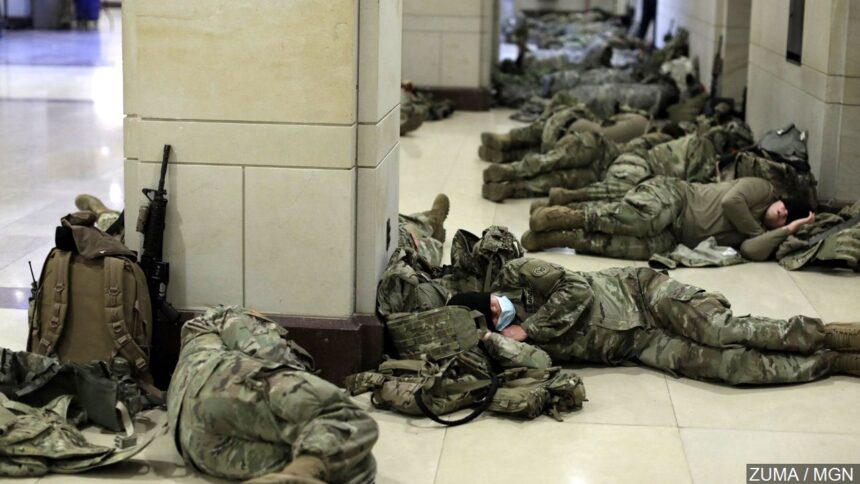 national guard at capitol