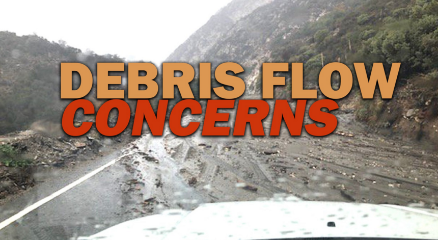 debris flow concerns