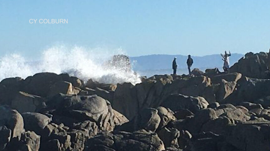 Pacific Grove PD rescues several people caught in high surf