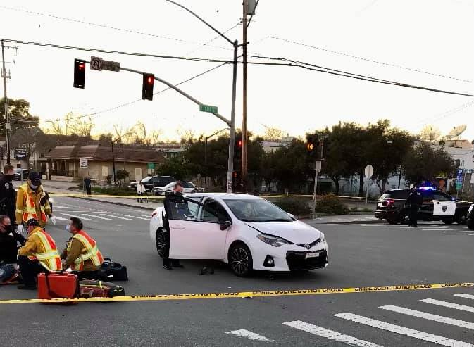 Santa Cruz Vehicle vs. Skateboarder incident