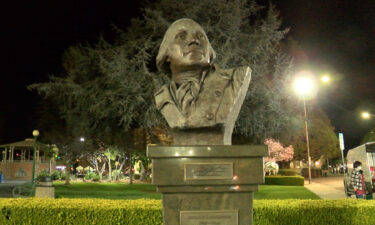 Watsonville Washington statue to be moved to library