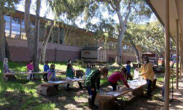 Monterey Bay Charter School begins outdoor, in-person instruction