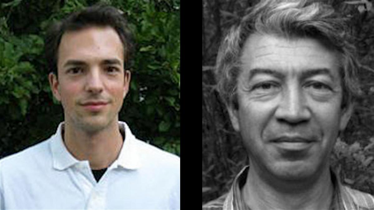 Ian Garrick-Bethell (left) and Mikhail Kreslavsky (right)