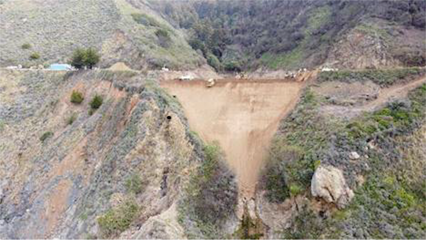 Caltrans: Highway 1 at Rat Creek to reopen to traffic April 30