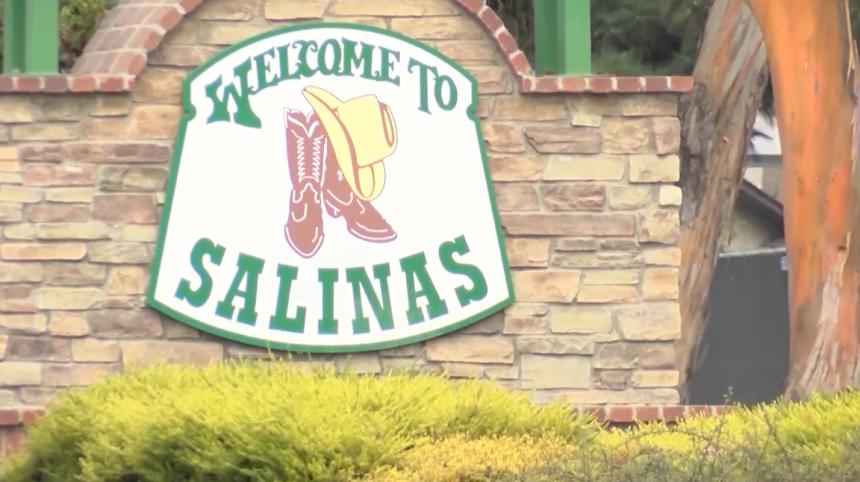 CIty of Salinas rodeo sign