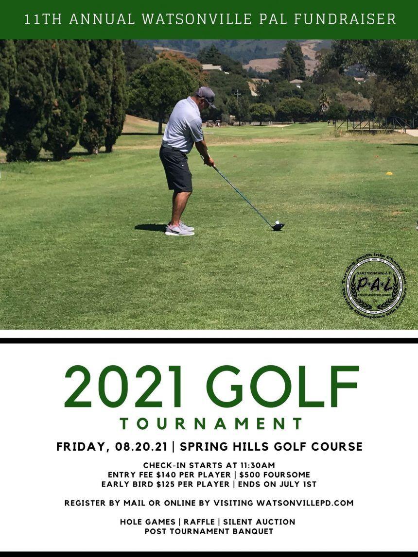 Watsonville Police Activities League Golf Tournament