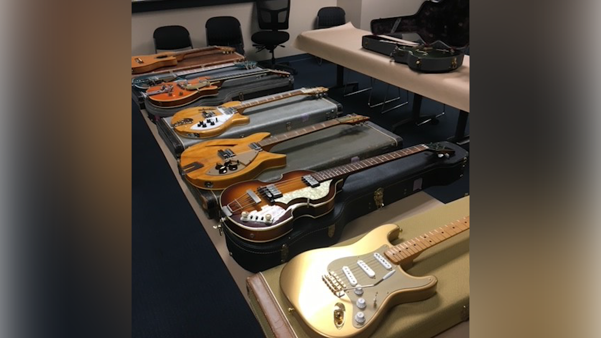 Nine stolen vintage guitars found in Santa Cruz during theft investigation