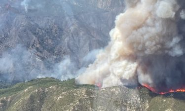 USFS, Cal Fire face another day of battling Willow Fire with zero percent containment