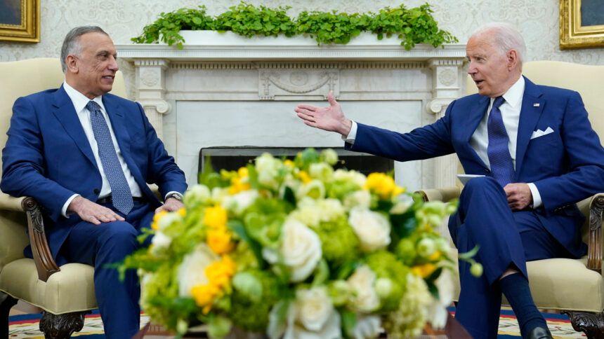 Joe Biden, Mustafa al-Kadhimi